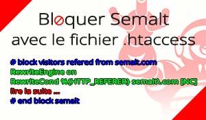 Bloquer Semalt avec le fichier .htaccess