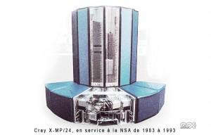 Espionnage, écoutes, ordinateur Cray x-mp24 de la NSA, 1983-1993